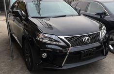 Lexus RX 350 2013 Black for sale