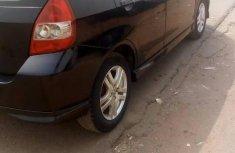 Clean Honda Fit 2005 Black for sale