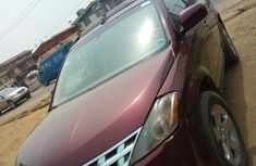 Nissan Murano 2005 red for sale