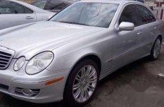 Mercedes Benz E300 2007 Silver For Sale