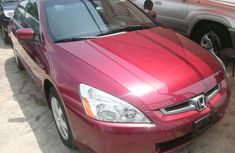 Tokunbo 2005 Honda Accord Ex FOR SALE