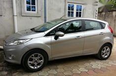 Ford Fiesta 2012 Silver for sale