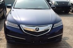 2016 ACURA TLX BLUE FOR SALE