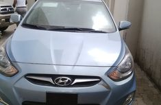 Neat Hyundai Accent 2010 Blue for sale