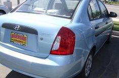 Clean Hyundai Accent 2009 Blue for sale