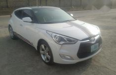 Clean Hyundai Veloster 2014 White For Sale