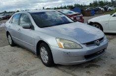 Honda Accord 2003 Silver For Sale