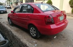 Hyundai Accent 2006 Red for sale
