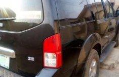 2005 Nissan Pathfinder Black For Sale