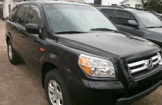 Clean Honda Pilot 2008 Black for sale
