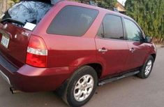 Clean Acura MDX 2003 red for sale
