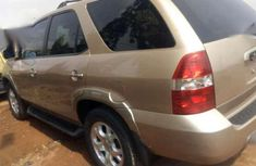 Acura MDX 2002 Beige for sale