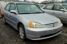 Hoda Civic 2003 Silver For Sale