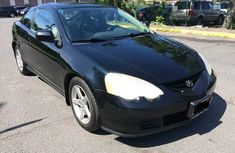 Auction Acura 2002 Black For Quick Sale