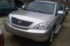 Toks Lexus RX330 2006 silver for sale with the fullest options