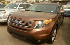 CLEAN 2010 FORD EXPLORER BROWN FOR SALE