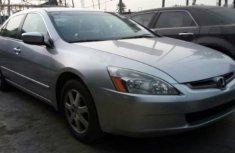 2005 Honda Accord Silver For Sale
