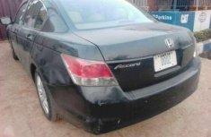 2008 Honda Accord Black for sale