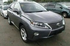 First grade Lexus 2015 Grey Rx350 for sale at affordable price