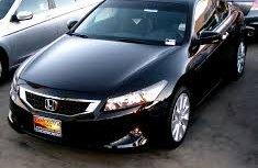 Tokunbo 2007 Honda Accord Black For Sale