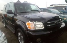 2004 Toyota Sequoia Automatic Petrol well maintained
