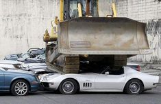 Luxury cars worth N432m crushed by Philippine's President to combat smuggled vehicles