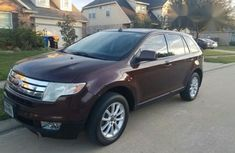 Ford Edge 2010 Brown for sale