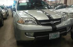 Clean Acura MDX 2004 Silver For Sale