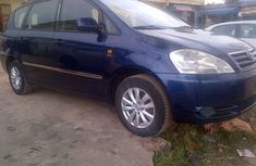 Clean Toyota Avensis verso 2004 Blue for sale