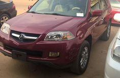 Clean Acura Mdx 2005 Model For Sale