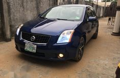 Neatly Used Nissan Sentra 2007 Blue For Sale