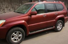 Naija Used Lexus GX470 2008 Red For Sale