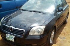 Clean Toyota Avensis 2007 Black For Sale