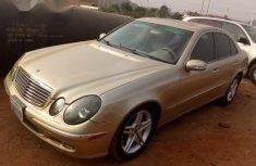 Mercedes-Benz E320 2005 Gold for sale