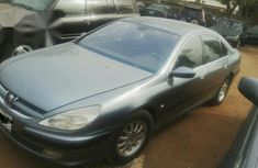 Peugeot 607 2001 Gray For Sale