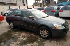 2005 Honda Accord EOD Gray For sale