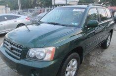2002 Toyota Highlander 2002 FOR SALE