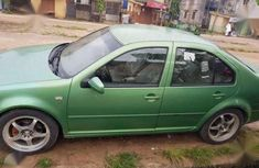 Volkswagen Bora 2001 Green For Sale
