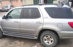 Clean Toyota Sequoia 2001 Silver for sale