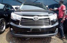 Toyota Highlander 2015 Petrol Automatic Black