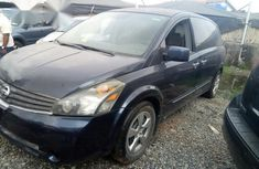 Clean Nissan Quest 2008 Blue for sale