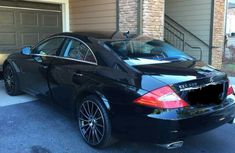 Mercedes-Benz CLS 550 2009 Black for sale