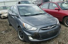 Clean direct tokumbo Hyundai Accent 2010 Grey for Sell.
