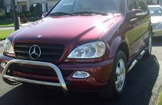 2002 Clean Mercedes-Benz Ml 320 for sale with full auction