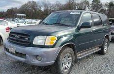 2002 tokunbo Toyota Sequoia SR5 for sale