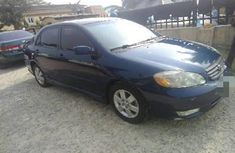 Toyota Corolla 2004 Petrol Automatic Blue for sale