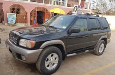 Nissan Pathfinder 2002 Black For Sale