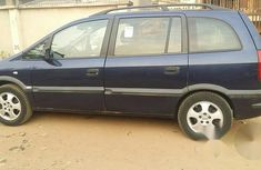 Opel Zafira 2002 Blue For Sale