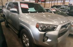 Clean Toyota 4Runner 2014 Silver for sale