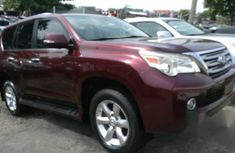 Lexus GX460 2012 Red For Sale